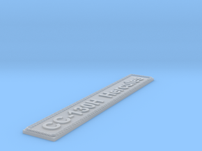 Nameplate CC-130H Hercules in Smoothest Fine Detail Plastic
