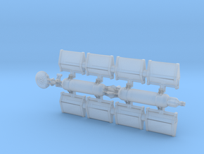 Achilles type Freighter Armada Scale in Smooth Fine Detail Plastic