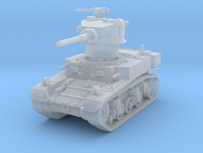 M3A1 Stuart late 1/220 in Smooth Fine Detail Plastic