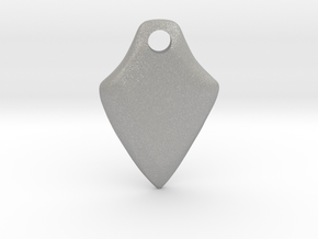 Twisted Thicc Pick ~1.7mm (UP twist) Wrist-Saver in Aluminum