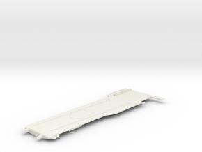 1/700 CVS-11 USS Intrepid Flight Deck Front in White Natural Versatile Plastic