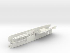 1/700 CVS-11 Intrepid Midsh. Waterline Open Doors in White Natural Versatile Plastic