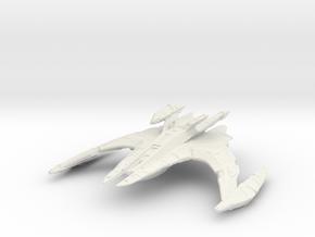 Dominion Battlecruiser (U-Type) 1/2500 in White Natural Versatile Plastic