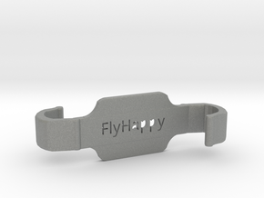 #FlyHappy SM - DJI Controller Small Tablet Holder in Gray PA12