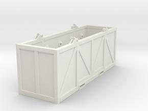 Modex 12 ft drill pipe basket - 1:50 in White Natural Versatile Plastic