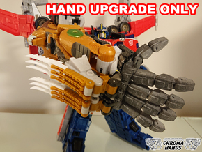 Cybertron Savage Claw Articulated Hand Upgrade in Gray PA12