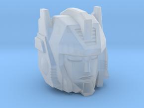 Sureshot head for Earthrise Sunstreaker in Smooth Fine Detail Plastic