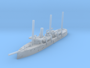 1/1250 Tiradentes Protected Cruiser in Smooth Fine Detail Plastic