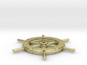 Higgins wheel 24th scale in 18k Gold Plated Brass