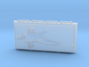 Han Solo in Carbonite in Smooth Fine Detail Plastic