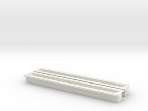 Train Inspection Pit (x2) 1/220 in White Natural Versatile Plastic