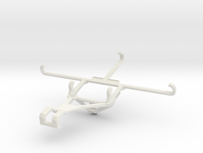 Controller mount for  & Oppo F17 in White Natural Versatile Plastic