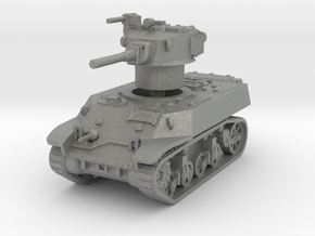 M3A3 Stuart 1/100 in Gray PA12