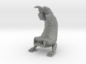 Clawhead 65mm kaiju miniature model fantasy dnd in Gray PA12