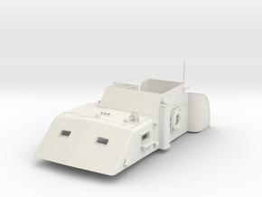 1/16 USN PT Boat 109 Main Cabin in White Natural Versatile Plastic