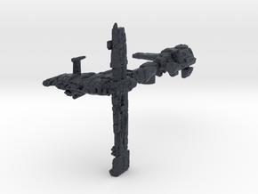 (MMch) Nebulon C Escort Frigate Variant 3 in Black PA12