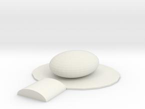 Ether Density Gem in White Natural Versatile Plastic