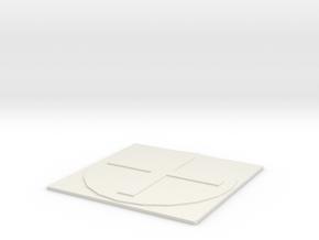 Transformation table in White Natural Versatile Plastic