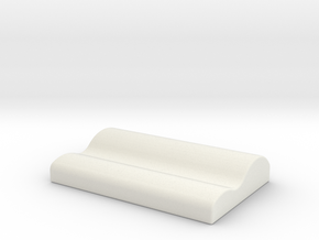 Braised pig blood pillow in White Natural Versatile Plastic: Small