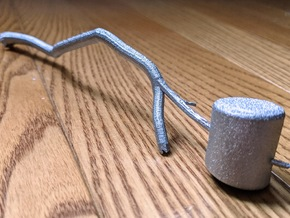 Marshmallow Candle Snuffer in Aluminum