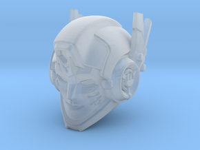 """Shatter"" head (2 antennae) in Smooth Fine Detail Plastic"
