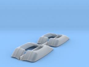 2nd Gen Dodge Fenders (set of 2) in Smoothest Fine Detail Plastic