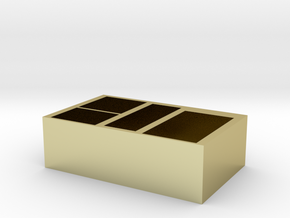 storage box in 18K Yellow Gold