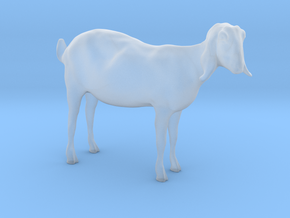 3D Scanned Nubian Goat - H0/1:87 scale in Smooth Fine Detail Plastic