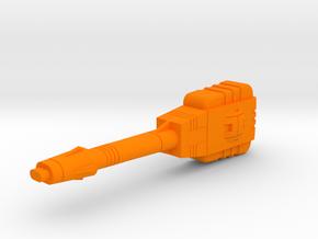 Starcom - Upriser - Leg Laser Canon in Orange Processed Versatile Plastic