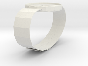 A WATCH in White Natural Versatile Plastic
