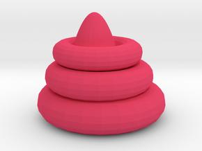 Incredible Kieran in Pink Processed Versatile Plastic: Extra Small
