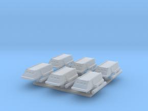1/1000 TOS Shuttlecraft - Six Pack in Smoothest Fine Detail Plastic