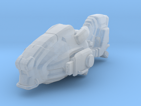 Sci fi hover bike /Infinity in Smooth Fine Detail Plastic