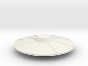 UFO V3 in White Natural Versatile Plastic