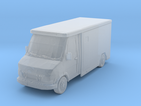 Mercedes Armored Truck 1/160 in Smooth Fine Detail Plastic