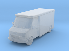 Mercedes Armored Truck 1/200 in Smooth Fine Detail Plastic