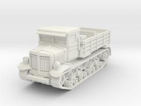 Voroshilovets tractor 1/56 in White Natural Versatile Plastic