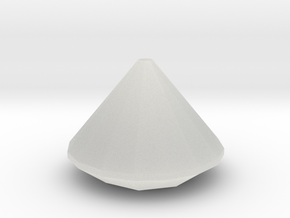 Perfect diamond model in Smooth Fine Detail Plastic