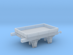 West Somerset Mineral Railway 2 plank wagon in Smooth Fine Detail Plastic