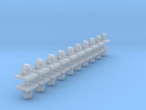 ODIN Laser System (20x) in Smoothest Fine Detail Plastic: 1:700