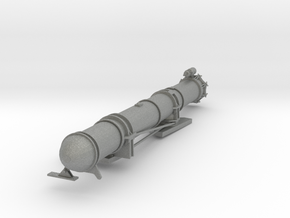 1/32 US PT Boat 109 Torpedo Tube Aft Port in Gray PA12