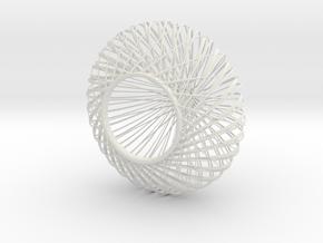 o3 lamp medium in White Natural Versatile Plastic: Medium