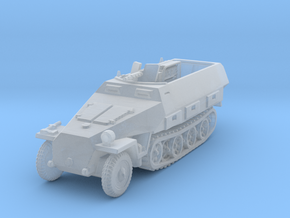 Sdkfz 251/3 D Radio 1/200 in Smooth Fine Detail Plastic