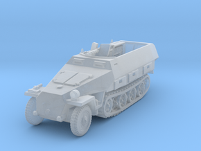 Sdkfz 251/3 D Radio 1/220 in Smooth Fine Detail Plastic