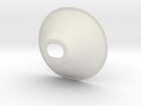 Bilat-ca1-30tt-cone in White Natural Versatile Plastic