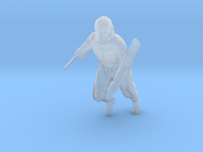 SW Clone Assassin miniature games dnd rpg trooper in Smooth Fine Detail Plastic