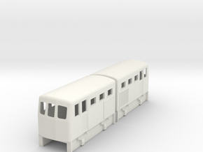 009 double diesel loco to fit 2 off Kato 103 in White Natural Versatile Plastic