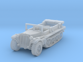 Sdkfz 10 B (open) 1/200 in Smooth Fine Detail Plastic
