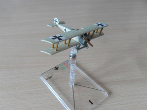 Fokker D.III in White Natural Versatile Plastic: 1:144