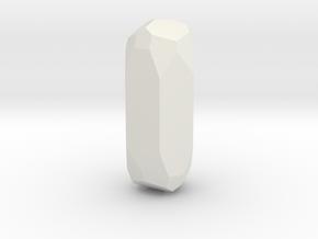 Belendorffite, 20mm. in White Natural Versatile Plastic